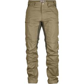 Fjällräven Abisko Lite Trekking Zip-Off Trousers Herren sand-tarmac